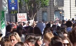 Por la libertad de enseñanza manifestación en Valencia de educación concertada con la supresión de conciertos 20170506_172849 (195)