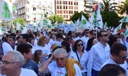 Por la libertad de enseñanza manifestación en Valencia de educación concertada con la supresión de conciertos 20170506_172849 (216)