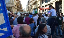Por la libertad de enseñanza manifestación en Valencia de educación concertada con la supresión de conciertos 20170506_172849 (258)
