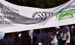 Por la libertad de enseñanza manifestación en Valencia de educación concertada con la supresión de conciertos 20170506_172849 (263)