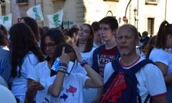 Por la libertad de enseñanza manifestación en Valencia de educación concertada con la supresión de conciertos 20170506_172849 (268)