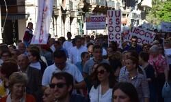 Por la libertad de enseñanza manifestación en Valencia de educación concertada con la supresión de conciertos 20170506_172849 (295)
