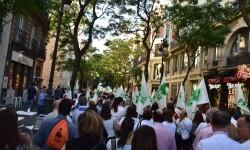 Por la libertad de enseñanza manifestación en Valencia de educación concertada con la supresión de conciertos 20170506_172849 (306)