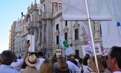 Por la libertad de enseñanza manifestación en Valencia de educación concertada con la supresión de conciertos 20170506_172849 (307)