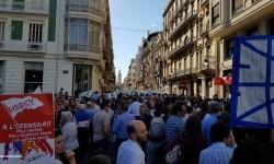 Por la libertad de enseñanza manifestación en Valencia de educación concertada con la supresión de conciertos 20170506_172849 (31)