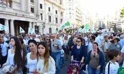 Por la libertad de enseñanza manifestación en Valencia de educación concertada con la supresión de conciertos 20170506_172849 (328)