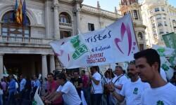 Por la libertad de enseñanza manifestación en Valencia de educación concertada con la supresión de conciertos 20170506_172849 (333)