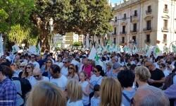 Por la libertad de enseñanza manifestación en Valencia de educación concertada con la supresión de conciertos 20170506_172849 (34)