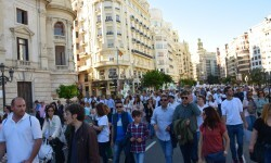 Por la libertad de enseñanza manifestación en Valencia de educación concertada con la supresión de conciertos 20170506_172849 (341)