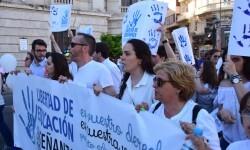 Por la libertad de enseñanza manifestación en Valencia de educación concertada con la supresión de conciertos 20170506_172849 (362)