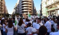Por la libertad de enseñanza manifestación en Valencia de educación concertada con la supresión de conciertos 20170506_172849 (385)