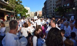 Por la libertad de enseñanza manifestación en Valencia de educación concertada con la supresión de conciertos 20170506_172849 (387)