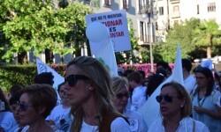 Por la libertad de enseñanza manifestación en Valencia de educación concertada con la supresión de conciertos 20170506_172849 (400)