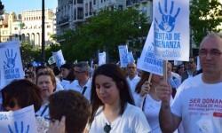 Por la libertad de enseñanza manifestación en Valencia de educación concertada con la supresión de conciertos 20170506_172849 (408)
