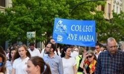 Por la libertad de enseñanza manifestación en Valencia de educación concertada con la supresión de conciertos 20170506_172849 (410)