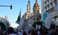 Por la libertad de enseñanza manifestación en Valencia de educación concertada con la supresión de conciertos 20170506_172849 (430)