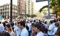 Por la libertad de enseñanza manifestación en Valencia de educación concertada con la supresión de conciertos 20170506_172849 (432)