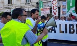 Por la libertad de enseñanza manifestación en Valencia de educación concertada con la supresión de conciertos 20170506_172849 (47)