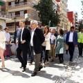 Puig destaca que el plan de rehabilitación para El Cabanyal-Canyamelar permitirá pasar de la 'destrucción' a la 'reconstrucción'.
