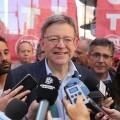Puig y Oltra muestran el compromiso de la Generalitat con los derechos de los trabajadores en la manifestación del 1 de Mayo.