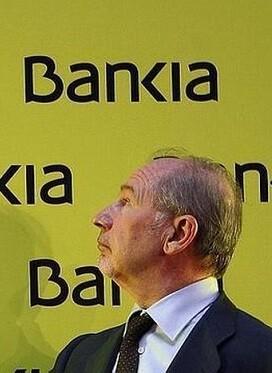 Rato durante la salida a bolsa de Bankia.