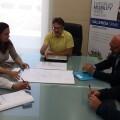 Reunión Movilidad Sostenible y comerciantes del centro histórico.