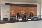 Sandra Gómez destaca la importante labor de los sindicatos en la creación de empleo de calidad.