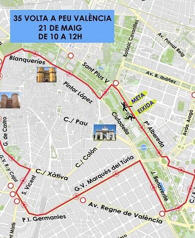 Se celebra a partir de las 10.00 horas, y las calles se cerraran y abrirán al paso de los participantes.