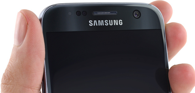 Teléfono Samsung.