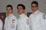 Tres tiradores de Esgrima Marítim clasificados para el Campeonato de España Sub 17.