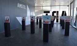 Valencia protagoniza la nueva Edición Especial de Amstel ilustradora valenciana Carla Fuentes y el gipuzcoano Iban Barrenetxea (1)