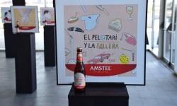 Valencia protagoniza la nueva Edición Especial de Amstel ilustradora valenciana Carla Fuentes y el gipuzcoano Iban Barrenetxea (3)