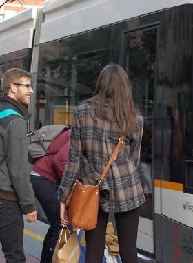 Viajeros Metrovalencia.