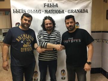 Xavier Herrero será el artista de las fallas Marqués de Montortal - Berni Català y Lluís Oliag - Mariola Granada
