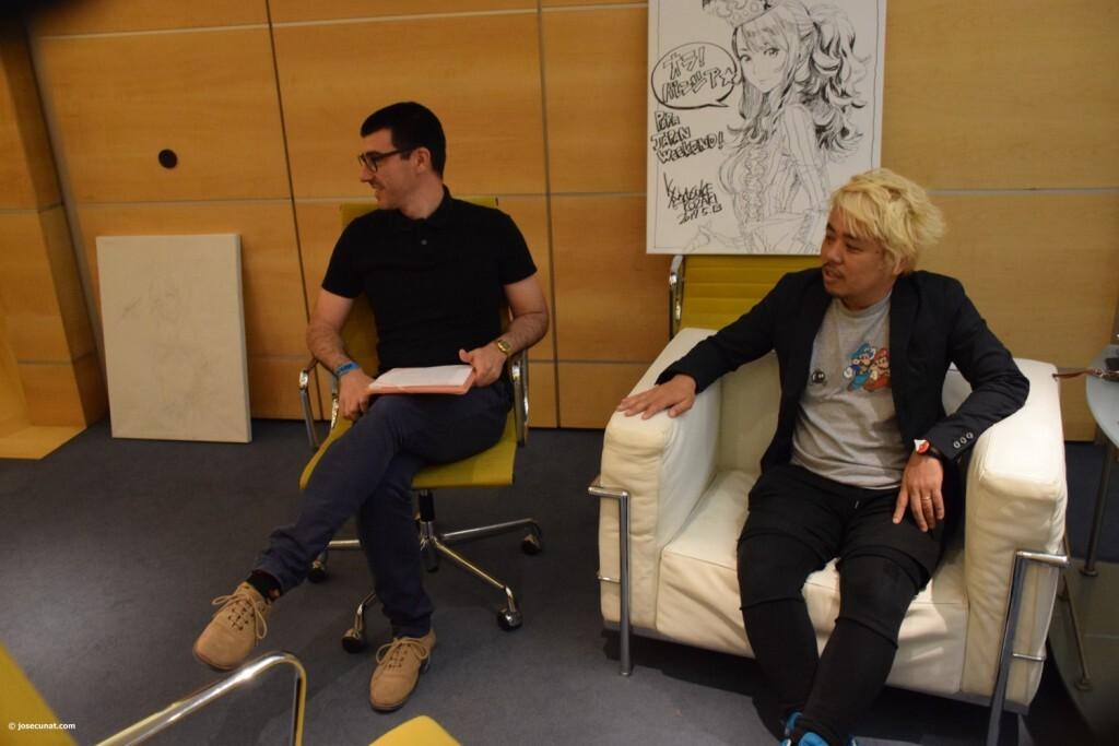 Yusuke Kozaki gran artista del Manga, ilustrador y diseñador de personajes (11)