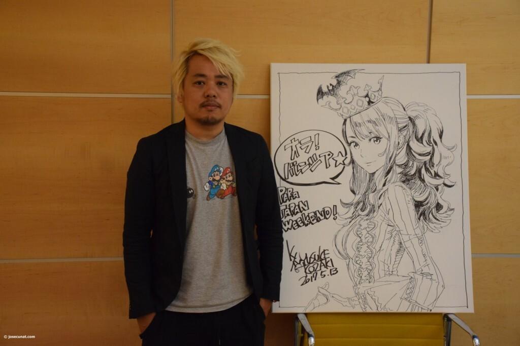 Yusuke Kozaki gran artista del Manga, ilustrador y diseñador de personajes (9)