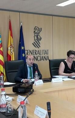 Andreu Iranzo, director general de Financiación y Fondos Europeos de la Generalitat Valenciana.