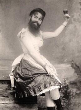Annie-Jones-la-mujer-barbuda-nació-en-Virginia-en-1860.-Probablemente-sufría-de-hirsutismo.