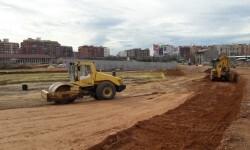 Aprobado el proyecto de reparcelación de la unidad A4.1 Parc Central, que mejora la accesibilidad del parque.