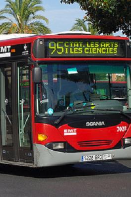 Autobús d ela EMT.