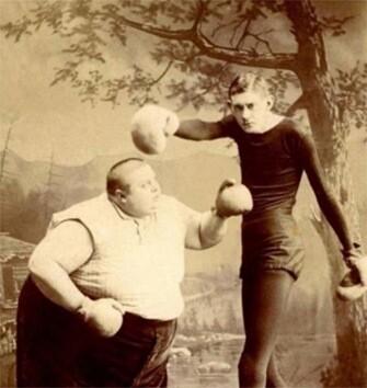 Boxeadores-de-circo