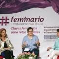 """Carmen Alborch-""""Este Feminario nos fortalece como el componente de transgresión de la cultura y el feminismo""""."""