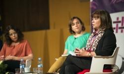 Cristina Narbona defiende el cambio del modelo alimentario actual para combatir el calentamiento global.