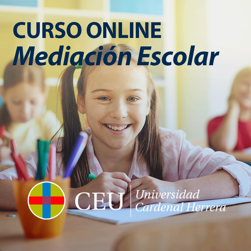 Curso de especialización en mediación escolar