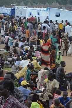 Desplazados etíopes. (Foto-Acnur).