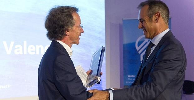Dionisio García Comín, CEO de Global Omnium, ha recogido el galardón.