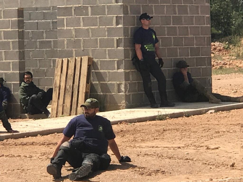 EL SPPLB prepara a los Policías Locales contra el Yihadismo Islámico. Como actuar en caso de atentado terrorista MARINES 1 (2)