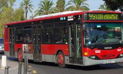 EMT reforzará con un centenar de conductores la Noche de San Juan y ofrecerá 75.000 plazas adicionales. (Autobús).
