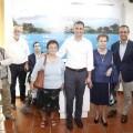 El Ayuntamiento de Calp y Global Omnium-Aguas de Valencia inauguran la exposición 'Calp, fets d'aigua'.