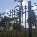 El Ayuntamiento restaura la valla del Casino del Americano dañada por el temporal.